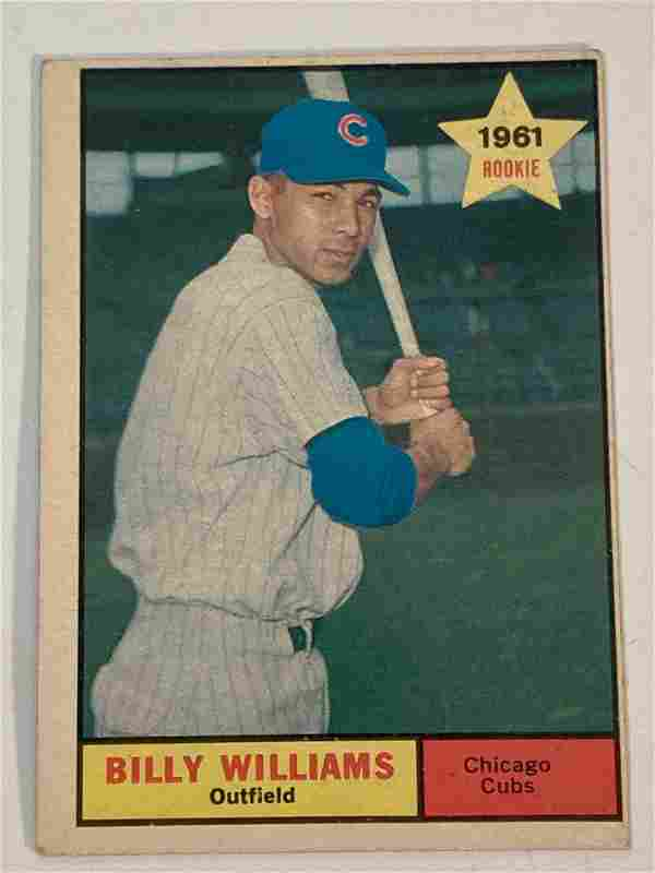 1961 Topps #141 Billy Williams Rookie Card