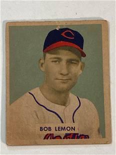 1949 Bowman #238 Bob Lemon Cleveland Indians