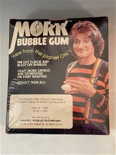 1978 Mork and Mindy Unopened Egg Gum Box