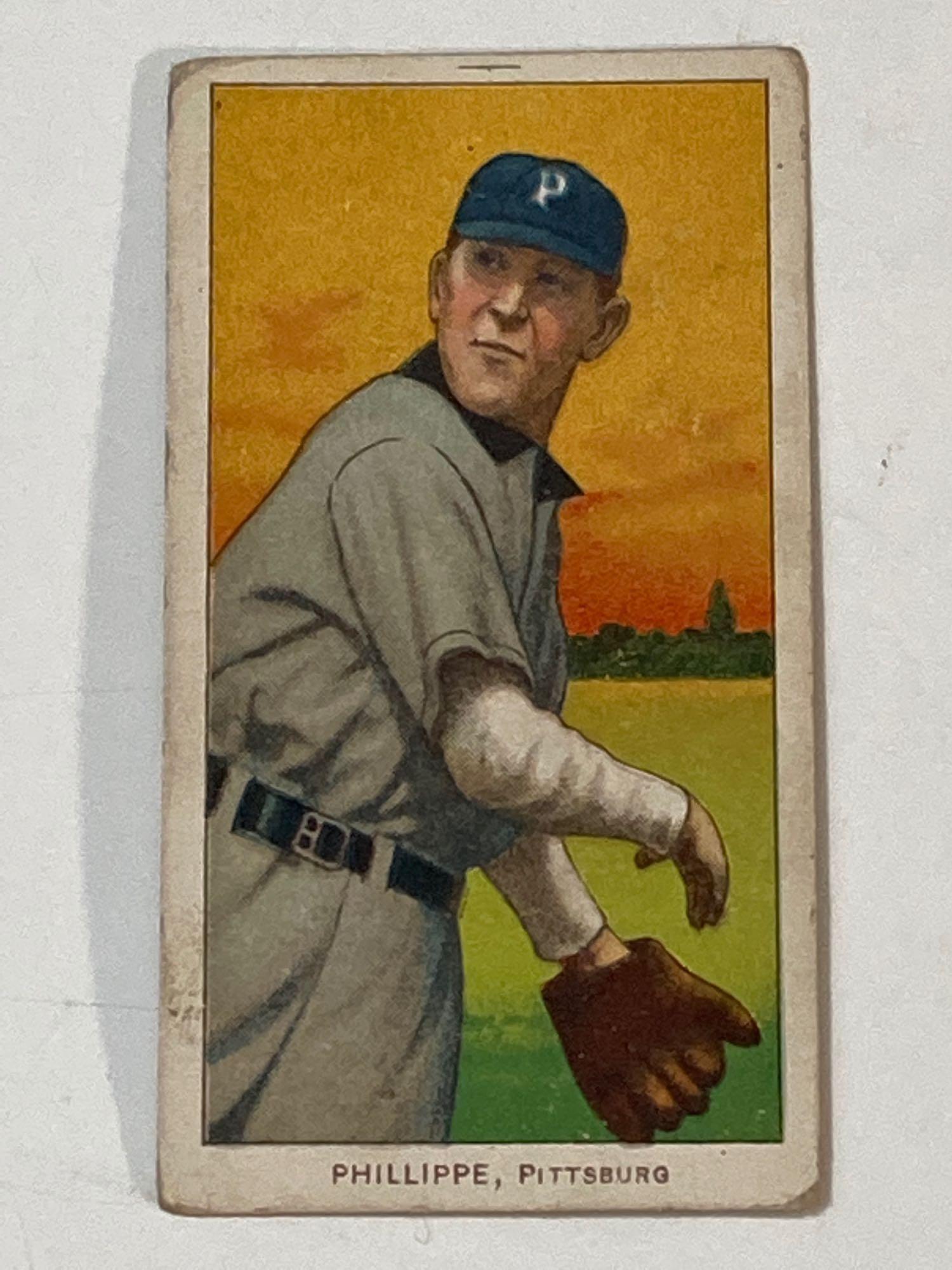 1909-11 T206 Deacon Phillippe Pittsburgh Pirates