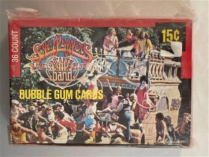 1978 Donruss Sgt Peppers Band Unopened Wax Box