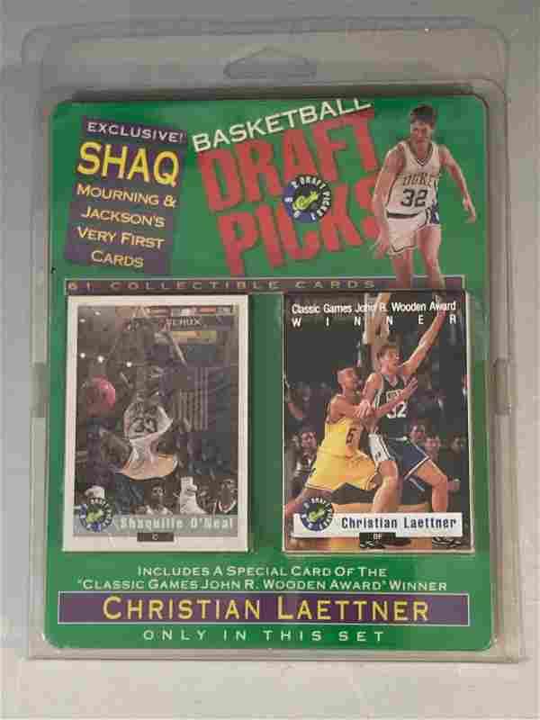 1992 Draft Picks Sealed/Unopened Set w/ Shaq Rookie LE