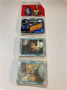 1980 Star Wars Unopened Rack Pack Empire Strikes Back