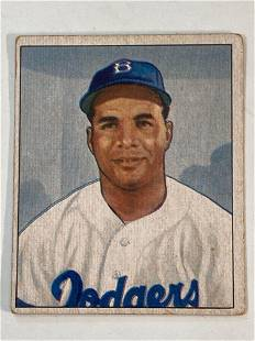 1950 Bowman #75 Roy Campanella Brooklyn Dodgers