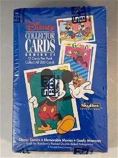 1992 Disney Collector Cards Series II Unopened Wax Box