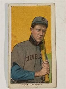 1909-11 T206 Wilbur Goode Cleveland Indians Naps