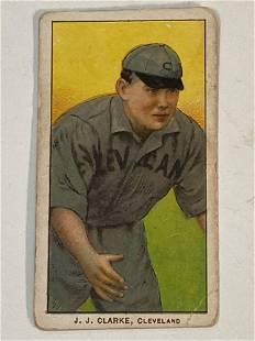 T206 J.J Clarke Cleveland Indians/Naps 1909-11