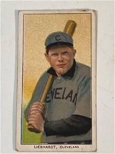 1909-11 T206 Glenn Liebhardt Cleveland
