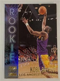 1996 Topps Stadium Club #R9 Kobe Bryant Rookie Card
