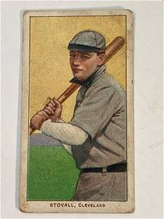 T206 George Stovall Cleveland Naps 1909-1911