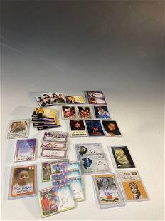 Collection of Non-Sport Autographed Insert Cards (32)