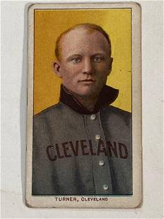 T206 Terry Turner Cleveland Naps Sweet Caporal