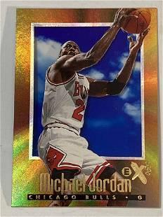1996 Skybox E-X2000 #9 Michael Jordan Chicago Bulls