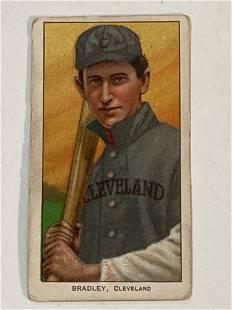 1909-11 T206 Bill Bradley Cleveland Naps Indians