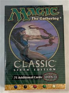 Magic the Gathering Unopened 6th Edition Starter Deck