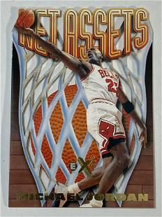 1996 Skybox E-X2000 Net Assets #8 Michael Jordan