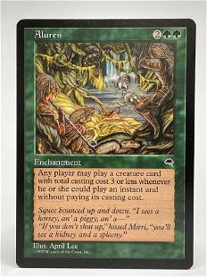 Magic The Gathering Aluren Temptest MTG
