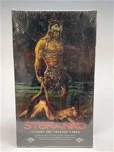 1995 Steranko Factory Sealed Wax Pack Box Fantasy Art