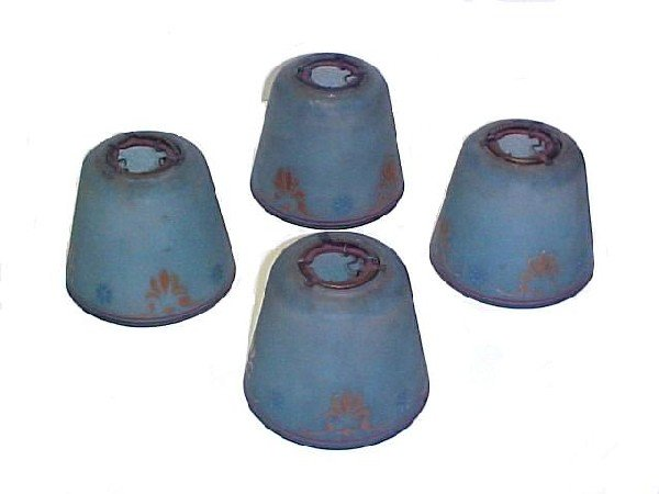 11: Set Of Four Shades Attributed To Moe Bridges,