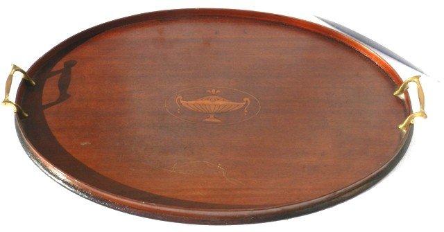 23: Regency stylized Inlaid Tea Tray