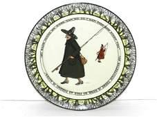 136 Royal Doulton Isaac Walton Ware Plate