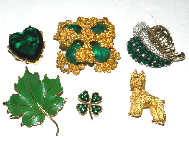 13: 6pc Signed Costume Jewelry- Kenneth Lane