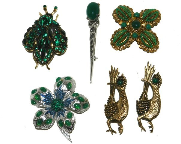 18: ESTATE Vintage Brooches and Pins