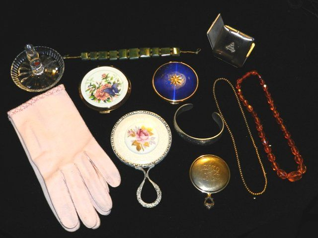 Misc Vintage Ladies Dresser Items