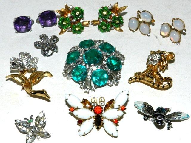 46: JOMAZ Designer Costume Jewelry -Sterling