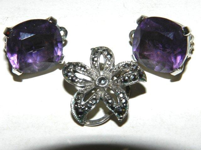 46: JOMAZ Designer Costume Jewelry -Sterling - 9