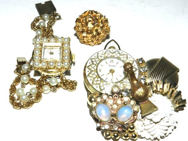 84: 3 Vintage Swiss Made Ladies Watches Chimer