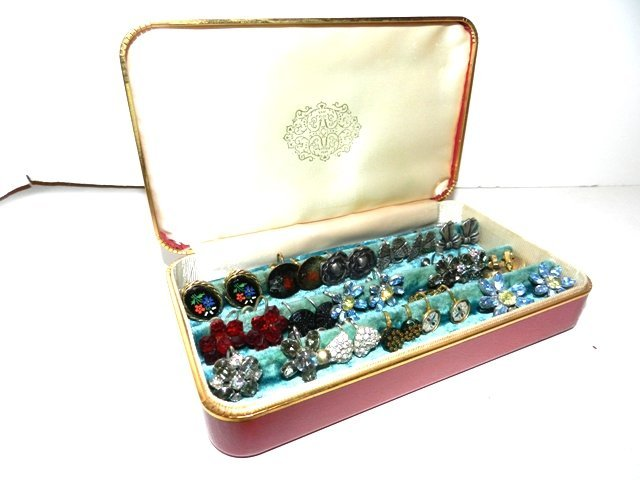 92: Sterling, Weiss, Panetta Vintage Earrings