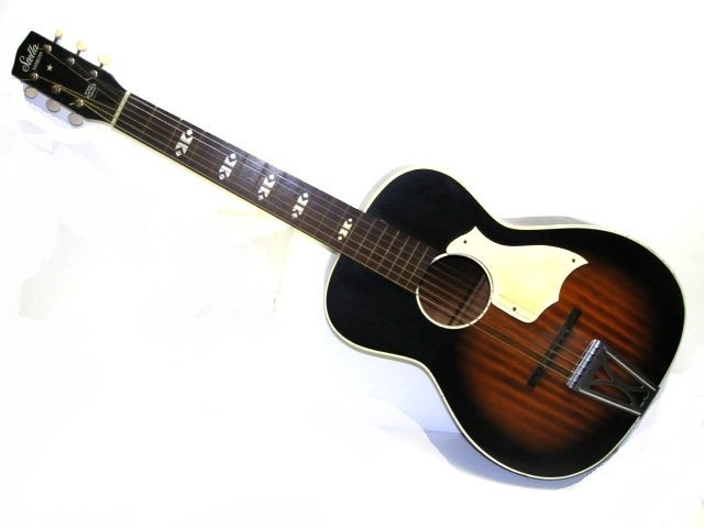 vintage stella harmony f 66 acoustic guitar