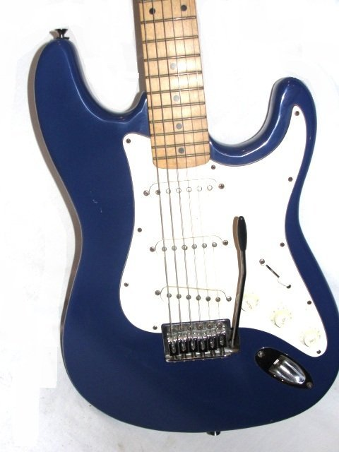 210I: Samick Artist Series Electric Guitar In Blue - 3