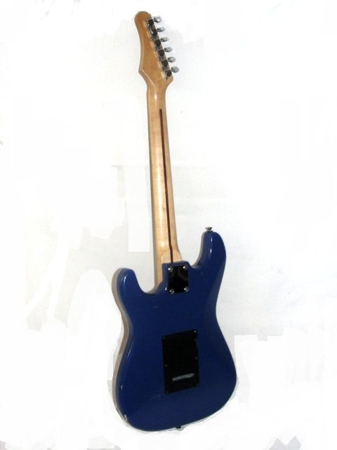 210I: Samick Artist Series Electric Guitar In Blue - 5