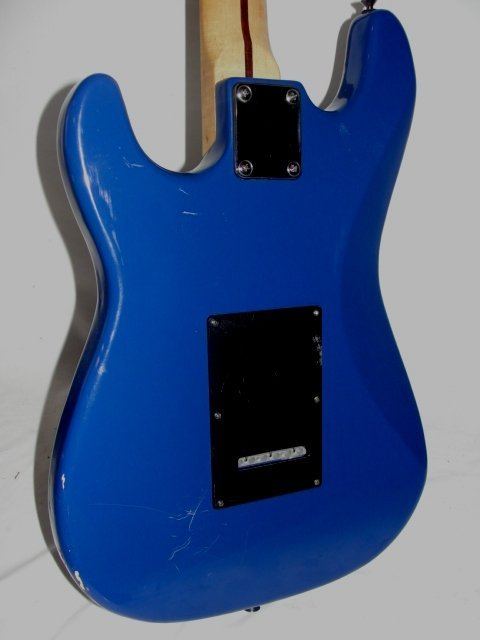 210I: Samick Artist Series Electric Guitar In Blue - 6