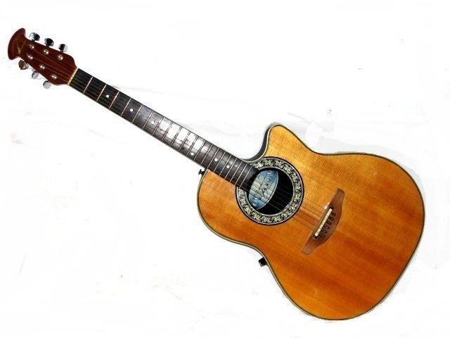ovation custom balladeer guitar model 1661