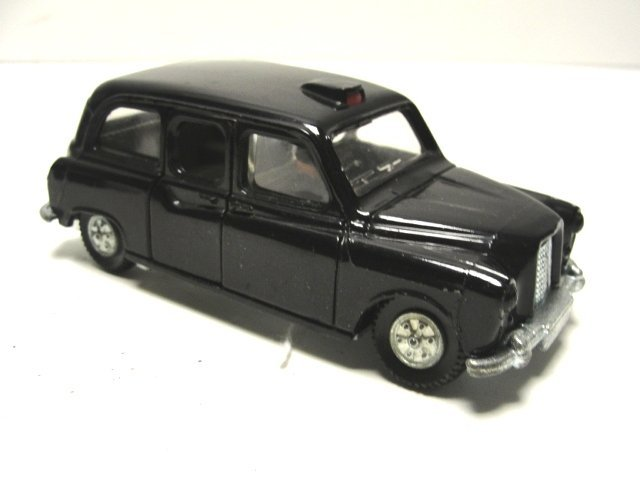 426: Dinky Road Roller Austin Taxi Toys - 3