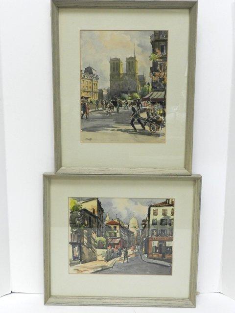 15: 2 Krafft French Watercolors