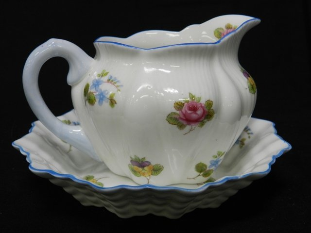 16: Shelly Porcelian Cup and Saucer