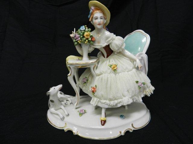 19: German Porcelain Figurine