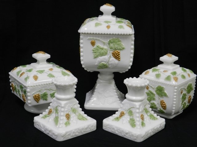 "21: Group of Westmoreland ""Grapes"" Set"