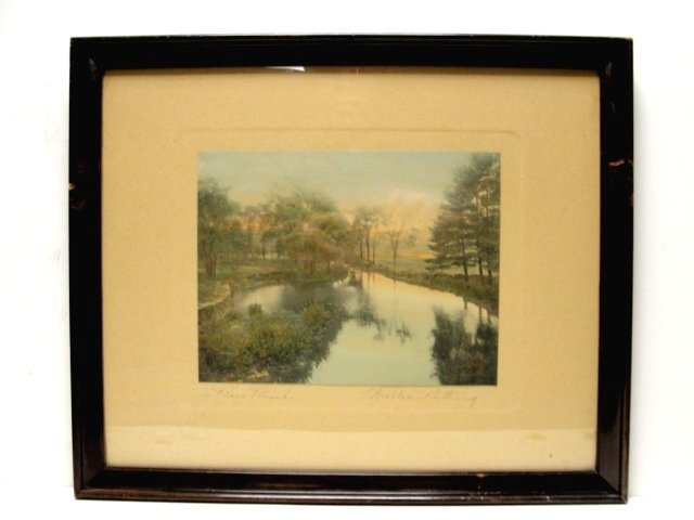 """11: Wallace Nutting Print  """"A BARRE BROOK"""" #3497"""