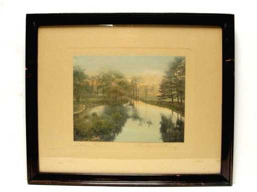 11 Wallace Nutting Print Quot A Barre Brook Quot 3497