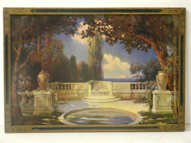 23: R. Atkinson Fox Framed Print, Summer Garden