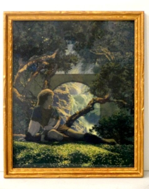 24: Maxfield Parrish Print The Knave aka The Prince
