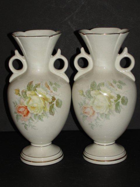 200: Royal Fenton Ware Staffordshire England Vases - 4