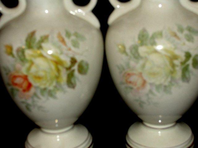 200: Royal Fenton Ware Staffordshire England Vases - 5