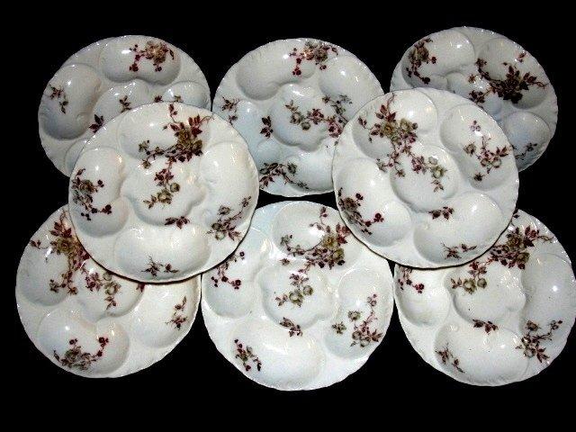 5D: Haviland France Limoges Oyster Plates