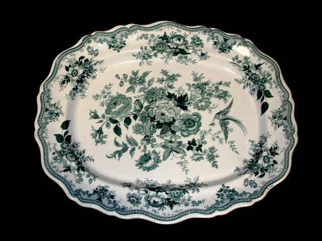 6: Wedgewood & Co. Asiatic Pheasants Platter